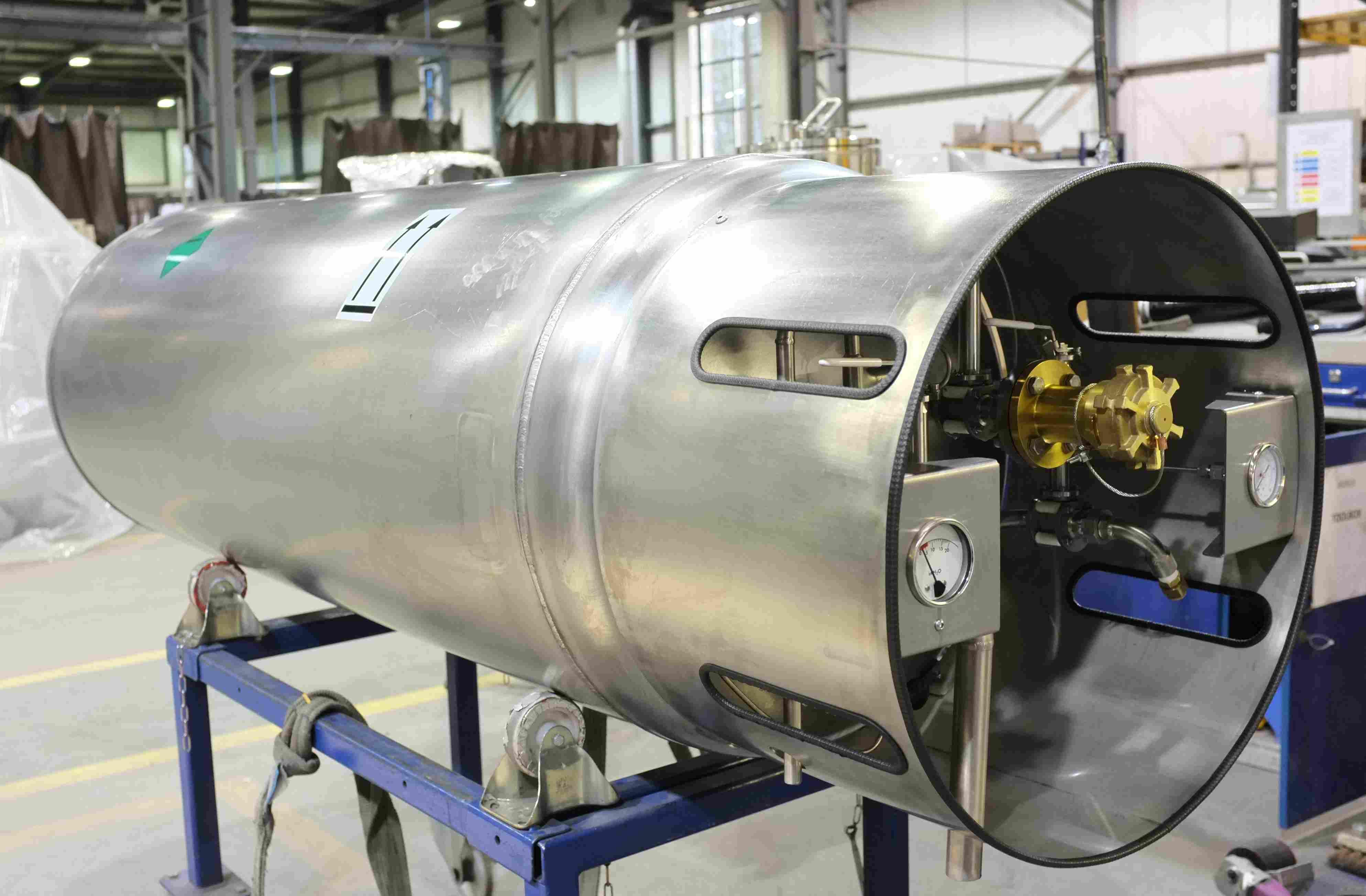 Liquid Nitrogen Refrigerated Vehicle Tanks
